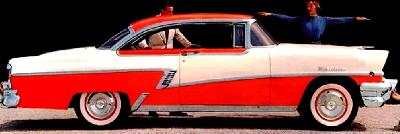 A 1956 Mercury Montclair