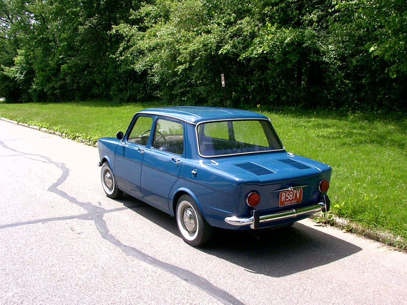 A 1966 Simca 1000