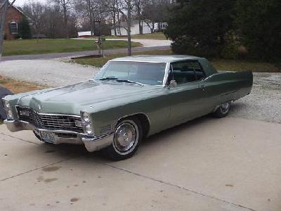 1967 Cadillac Calais Coupe specifications