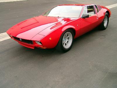 A 1970 De Tomaso Mangusta