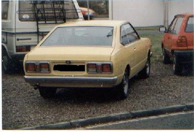 1976 Datsun Violet 160J specifications