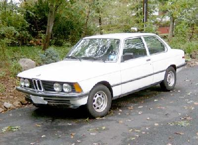1982 BMW 323i specifications
