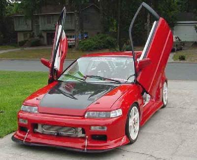 Honda CRX 1992 Presentation