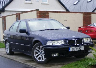 Picture credit: BMW. Send us more 1993 BMW 316i Lux Touring pictures.