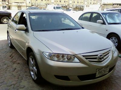 A 2003 Mazda 6