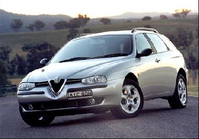 alfa romeo 156 sw 2 4 jtd progression 2004 presentation. Black Bedroom Furniture Sets. Home Design Ideas