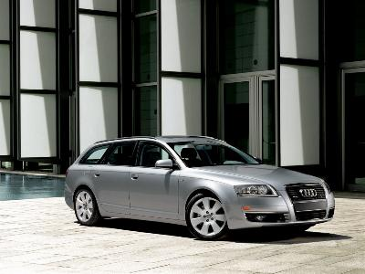 General image of a 2005 Audi A6 Avant. Picture credit: Audi.