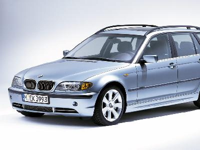 BMW 320d Touring 2005. Pictures. Specs.