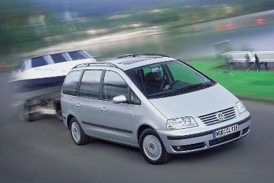 volkswagen sharan 1 8 t automatic 2005 pictures specs. Black Bedroom Furniture Sets. Home Design Ideas