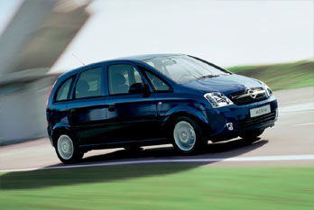 opel meriva 1 6 club 2005 pictures specs. Black Bedroom Furniture Sets. Home Design Ideas