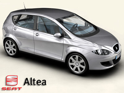 Seat Altea Fr Tdi. 2005 Seat Altea FR picture