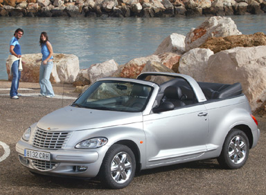 chrysler pt cruiser cabriolet gt 2 4 turbo 2005 pictures. Black Bedroom Furniture Sets. Home Design Ideas