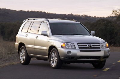 toyota highlander hybrid 4x4 2006 pictures specs. Black Bedroom Furniture Sets. Home Design Ideas