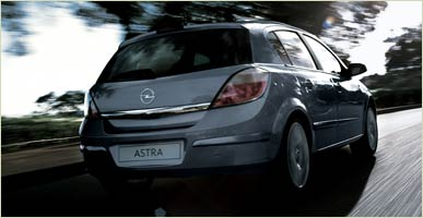 A 2006 Opel Astra