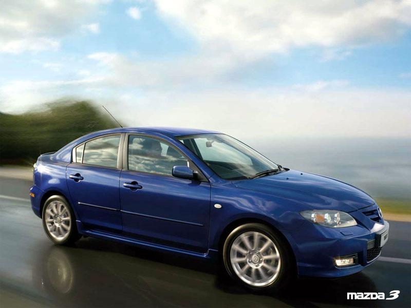wallpapers mazda 3. 2006 Mazda 3 1.6 CD Comfort