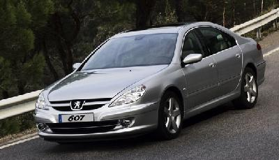peugeot 607 2 7 v6 hdi 205 premium 2006 pictures specs. Black Bedroom Furniture Sets. Home Design Ideas