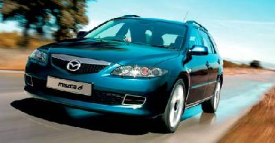 mazda 6 s sport wagon 2006 pictures specs. Black Bedroom Furniture Sets. Home Design Ideas