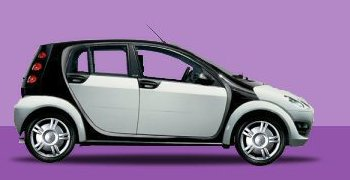 smart forfour 1 3 pure 2006 pictures specs. Black Bedroom Furniture Sets. Home Design Ideas