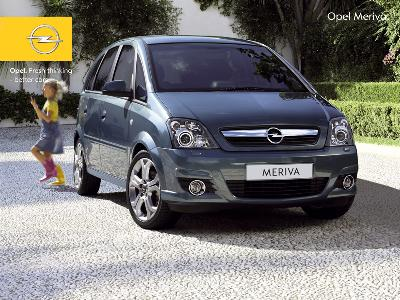 opel meriva 1 7 ctdi 2006 pictures specs. Black Bedroom Furniture Sets. Home Design Ideas