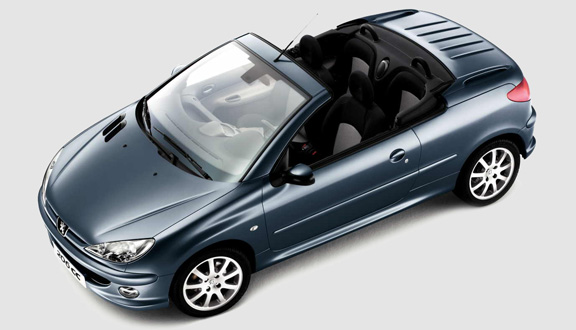 2006 peugeot 206 2 0 cc coupe cabriolet pictures. Black Bedroom Furniture Sets. Home Design Ideas
