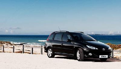 peugeot 206 sw 1 6 hdi 110 grand filou cool 2006 pictures specs. Black Bedroom Furniture Sets. Home Design Ideas