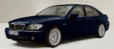 A 2007 BMW 7 Series