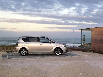 toyota corolla verso 160 sx 2007 pictures specs. Black Bedroom Furniture Sets. Home Design Ideas