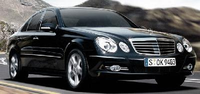 A 2008 Mercedes-Benz E Series