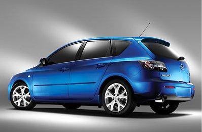 A 2008 Mazda 3