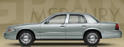 A 2009 Mercury Grand Marquis