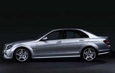 A 2009 Mercedes-Benz C Series