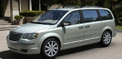 A 2009 Chrysler Grand Voyager