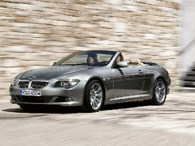 A 2009 BMW 6 Series Cabriolet