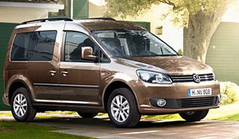 Volkswagen Caddy Maxi Life 1.9 TDi 4Motion 2010. Pictures. Specs.