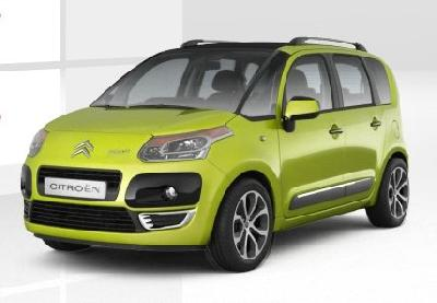 citroen c3 picasso vti 120 2010 pictures specs. Black Bedroom Furniture Sets. Home Design Ideas