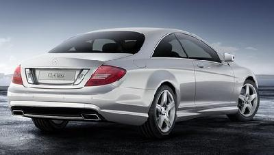 Mercedes-Benz CL 600 Coupe 2010