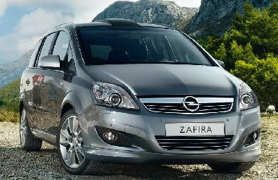 opel zafira 1 8 2010 pictures specs. Black Bedroom Furniture Sets. Home Design Ideas